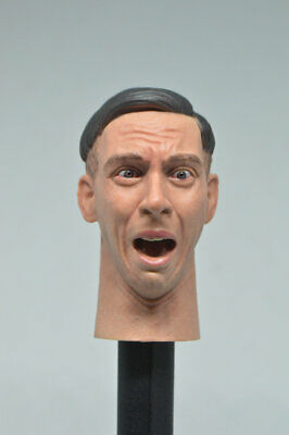 1/6 Male Head Sculpt with Expression for 12'' Figure HOT TOYS FP-SC-001