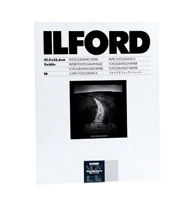 Ilford MGIV RC Deluxe 11x14 Pearl Photographic Paper - 10 (Open Box)