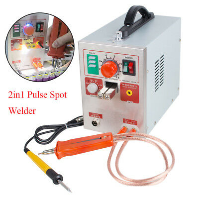 2in1 Pulse Spot Welder 709A Battery Welding Soldering Machine 1.9kw 60A Industry