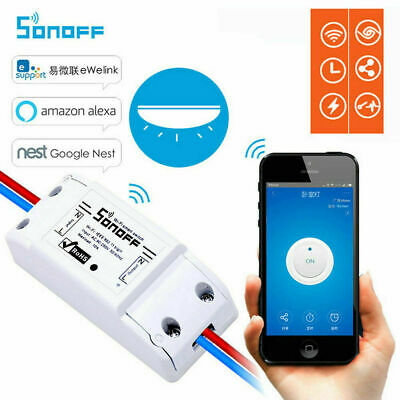 Sonoff Basic Smart Home WiFi Wireless Switch Module For IOS Android APP Ctrl RM