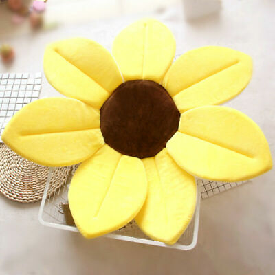 AU Lotus Flower Bathtub Blooming Soft Safety Sink Bath Flower Mat Pad for Baby