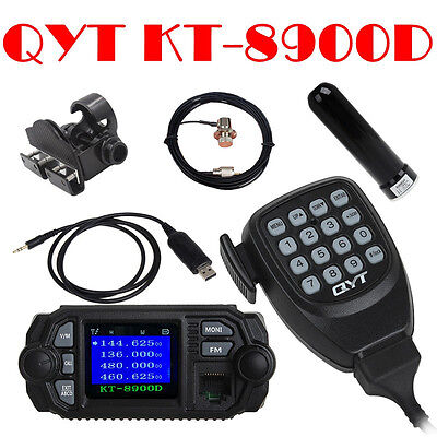 KT-8900D Radio mobile VHF / UHF + programme antenne / montage / câbles / support