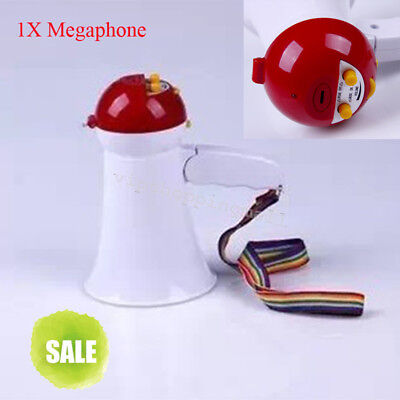 Foldable Megaphone Loud Speaker Bull Horn Voice Amplifer Speech Outdoor speak