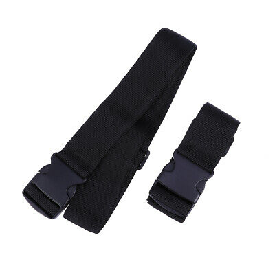 2/4pcs Strong Travel PP Portable Luggage Strap Suitcase Packing Belt Adjustable