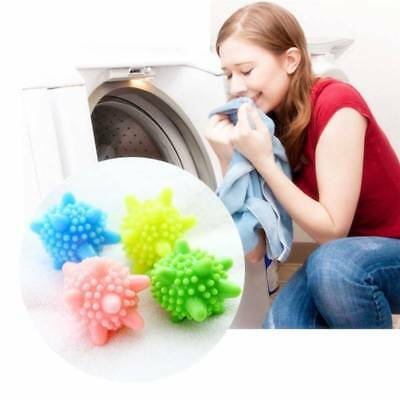 4pcs Reusable Soft Laundry Balls Remover Washing Machine Cleaning Clothes