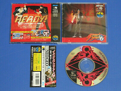 The King of Fighters 96 Free shipping SNK Neo Geo CD Import Japan 19000131
