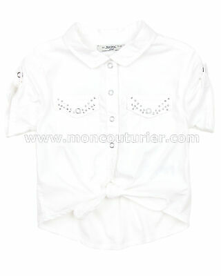 Sizes 2-9 Mayoral Girls Shirt with Knot