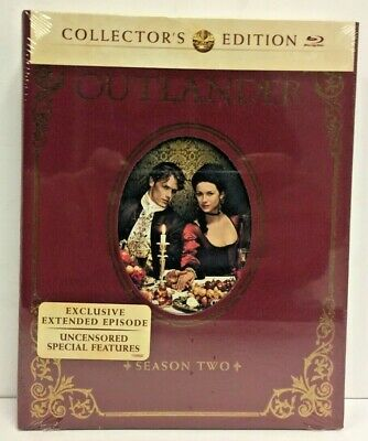 Brand New Sealed Outlander Season 2 Collector's Edition- Blu-ray/UV