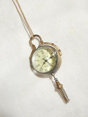 """"""" Omega """" Made In Suisse - Petite Montre Cylindrique"""