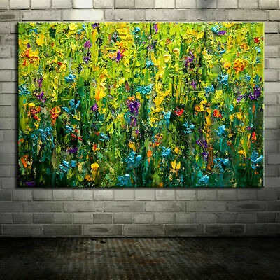 VV083 Hand-painted abstract Oil Paintings on canvas Botany Flowers and plants