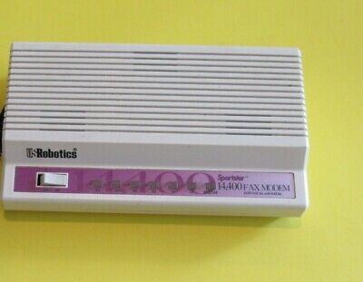 US Robotics CJE-0318 Sportster 14,4000 14.4K Fax Modem (with out power supply)