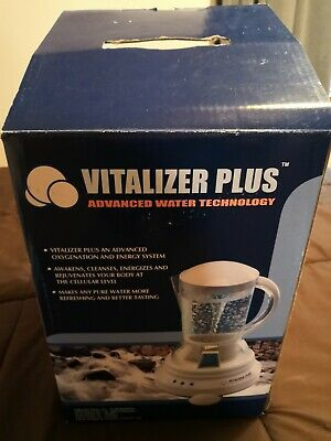 Vitalizer Plus Hexagonal Oxygen Water Maker with 3 Mineral Cubes (Open Box)