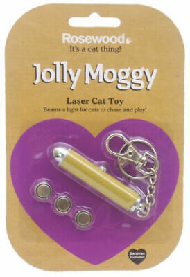 Rosewood Jolly Moggy Laser Cat Toy