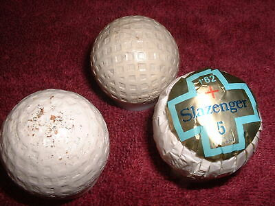 a1fc4213b5 Vintage Golf Balls, Silver King Mesh, Mesh with poles, 1.62 Slazenger in  wrapper