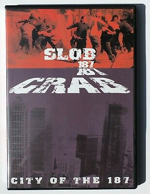 Slob 187 & Crab 187 -City of the 187 (DVD, 2004) Crips & Bloods Gang Documentary