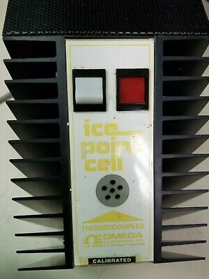 ONE Omega Ice Point Cell Temperature Reference Calibration Cell TRC 3 #A60