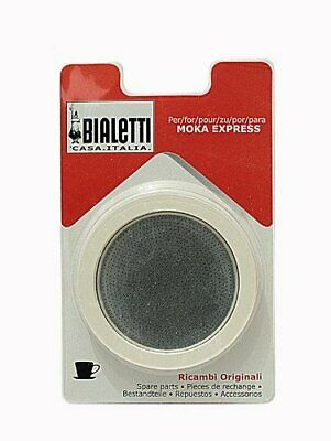 Bialetti - 3 Spare seals for a 3 cups aluminium coffee maker