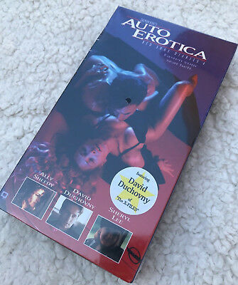 22ab463a New Sealed 1994 Republic Pictures Auto Erotica Red Shoe Diaries 4 VHS  Duchovny