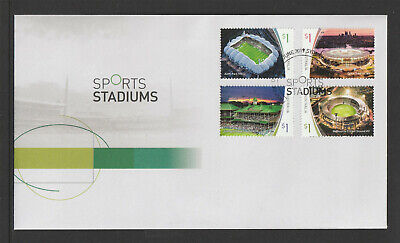 Australia 2019 : Sports Stadiums - First Day Cover. Mint Condition