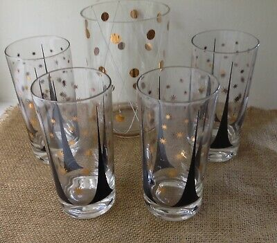 Vintage Mid Century Fred Press Set Of 4 & More