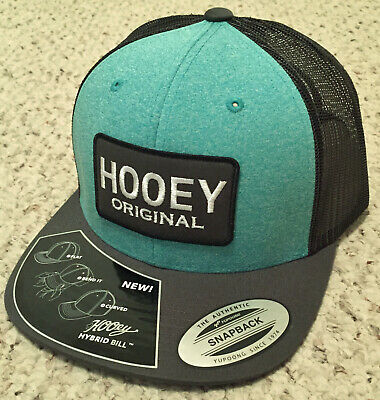 check out fac83 b2eea Hooey Cap Aqua Gray Brand New FREE SHIPPING