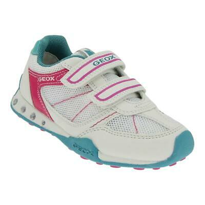 GEOX TAILLE 24 Blinki Fille Baskets Velcro Loisir Chaussures