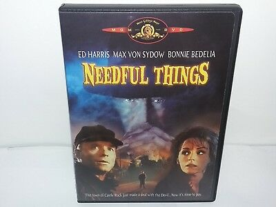 Needful Things (DVD, Canadian, Region 1, Widescreen) Excellent - Guaranteed