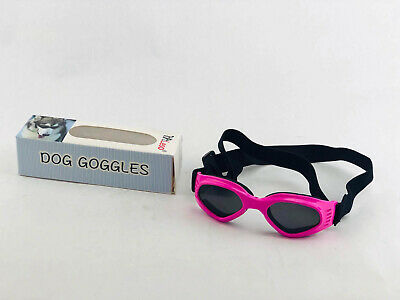 Petleso Pet Goggles, Stylish Dog Sunglasses for UV Stop Waterproof Windproof Ant