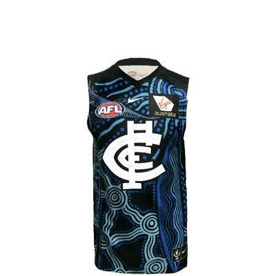 NEW Official 2019 Carlton Blues Mens Indigenous Guernsey