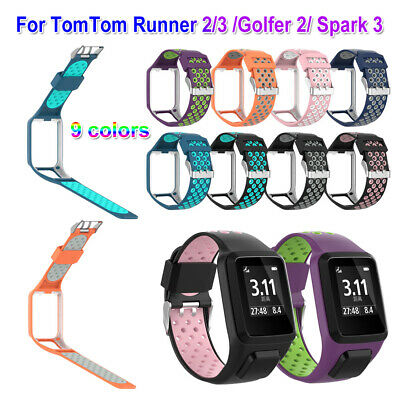 Replacement Silicone Watch Band Strap For sports Tom Runner 2&3/Golfer 2/Spark 3