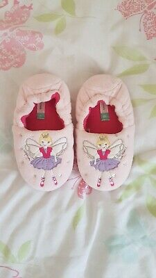 John Lewis Girls Kids Fairy Slippers Infant Size 6 excellent condition