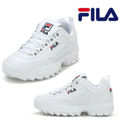 FILA DISRUPTOR II 2 Blanches Classic Athletic Running Femme