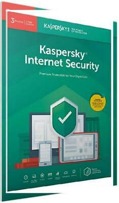 Kaspersky Internet Security 2019   3 Devices   1 Year   PC/Mac/Android  ...