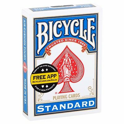 BRAND NEW Deck Blue Bicycle US Standard Playing Cards Card Sealed Poker Magic