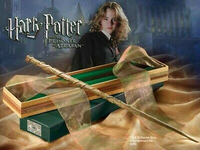 Harry Potter BACCHETTA MAGICA di HERMIONE Olivander Box Edition ORIGINALE Noble