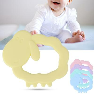 Baby Teether Kid Food Grade Silicone Pacifier Teething Chew Animal Shape Toy