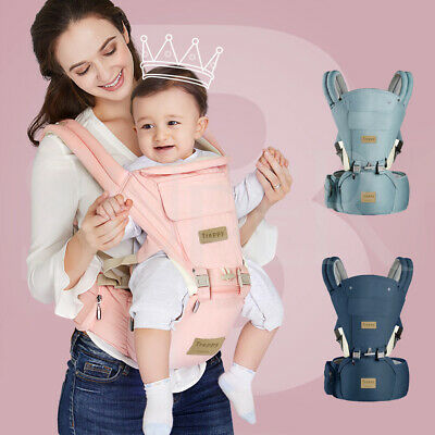 Baby Carrier With Hip Seat Ergonomic Wrap Sling Waist Stool Backpack Adjustable