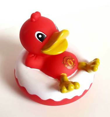 Manchester United Fc Official Rubber Duck Gift Red