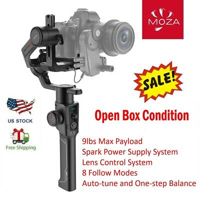 MOZA Air 2 3-Axis Gimbal Stabilizer for Mirrorless DSLR Canon Sony Nikon Camera