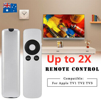 Replacement Universal Upgraded Infrared Remote Control For Apple TV1/TV2/TV3 AU