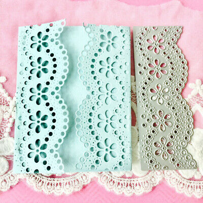 DIY Lace Pattern Invitation Letter Envelope Cover Metal Cutting Dies Stencils