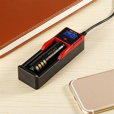 Digital LCD Display Battery Charger FOR 26650/18650/18490/17335/16340/10440 S0