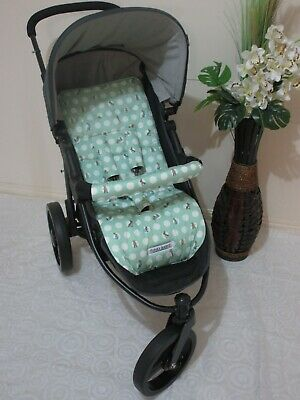 Stroller,pram liner set,100% cotton fabric-Peter rabbit spot Funky Babyz,SALE*