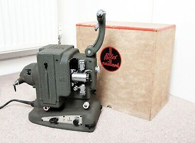 Vintage Bolex Paillard M8 8mm Film Movie Projector with box