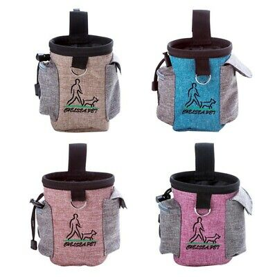 Pet Dog Outdoor Training Snack Obedience Food Bag Puppy Treat Waist Belt Pouch