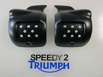Triumph Street Cup Street Twin Street Scrambler Air Intake Finishers Cover Black