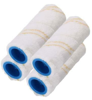 2 X Two-piece microfibre roller set for the Kärcher FC3, FC5 Hard floor cleaner