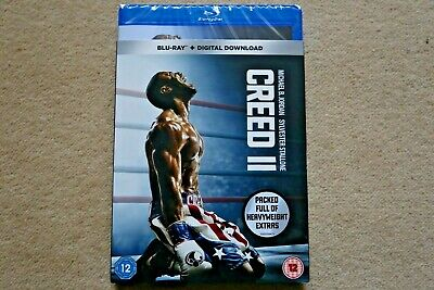 Blu-Ray Creed Ii ( 2 )    Brand New Sealed Uk Stock