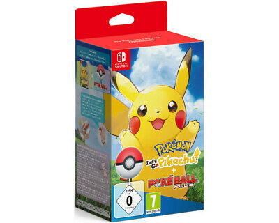 Pokémon: Let's Go, Pikachu! + Pokéball Plus - Nintendo Switch NEU OVP