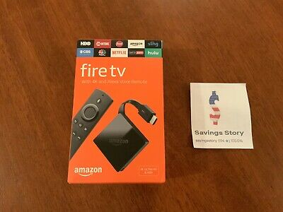 Amazon Fire TV (3rd Generation) 4K Streaming Media Player and Alexa Voice Remote